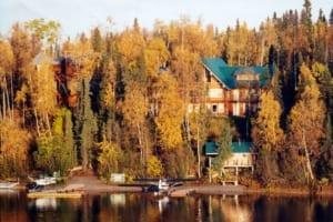 alaska fly fishing lodges